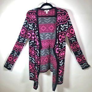 Arizona Jeans Company Cardigan Drape Sweater